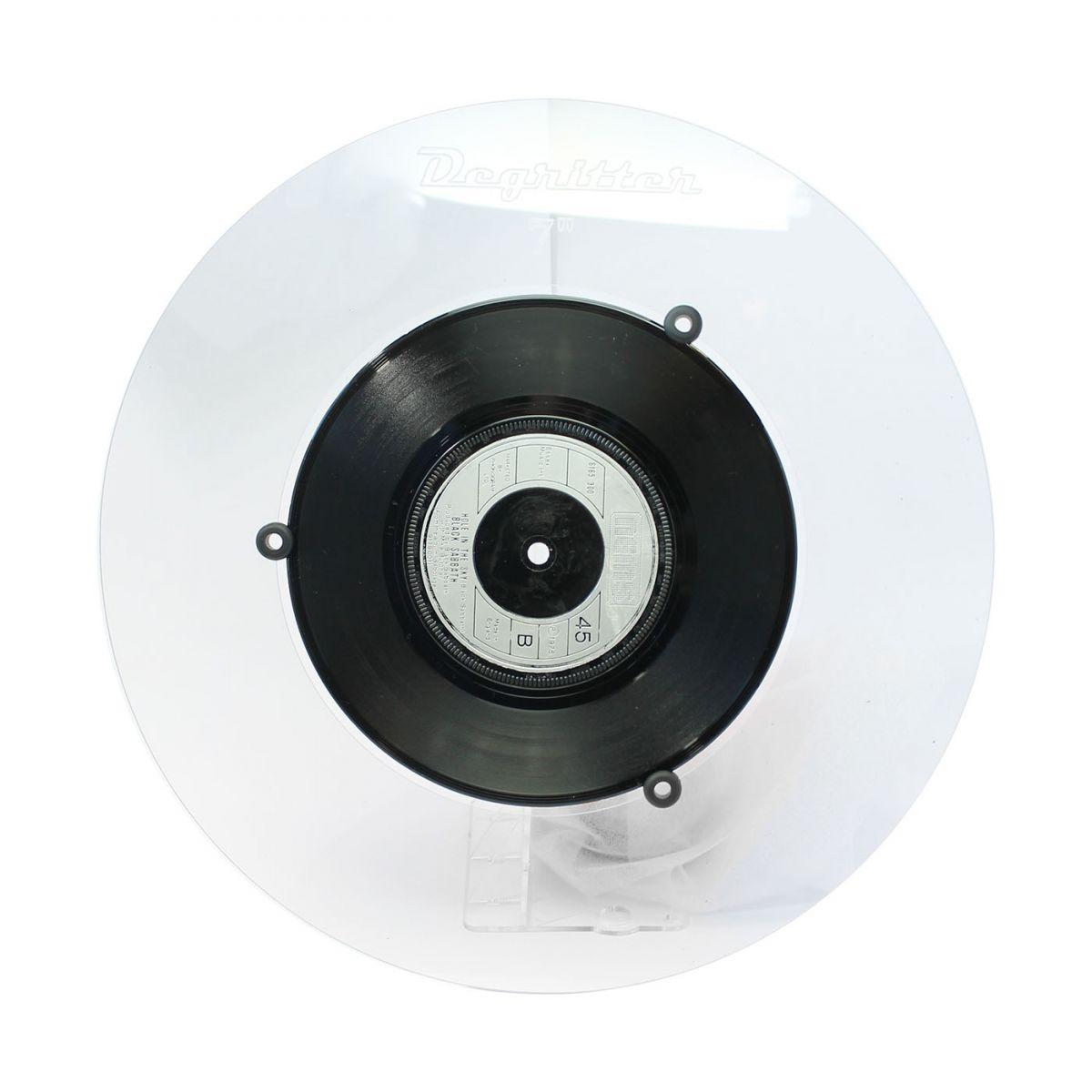 Degritter Adaptateur pour disque vinyle 7 pouces