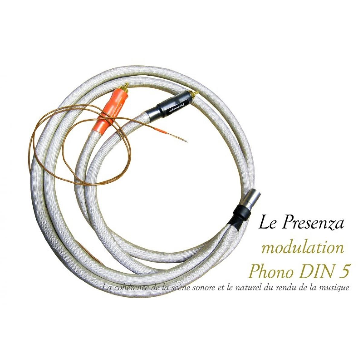 Legato Presenza modulation phono DIN 5 broches