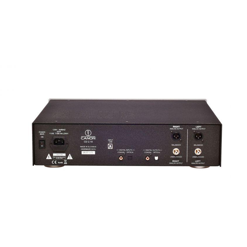 Canor Lecteur CD 2.10 et DAC à transistor