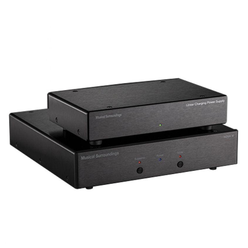 Musical Surroundings NOVA 3 noir avec alimentation externe linéaire